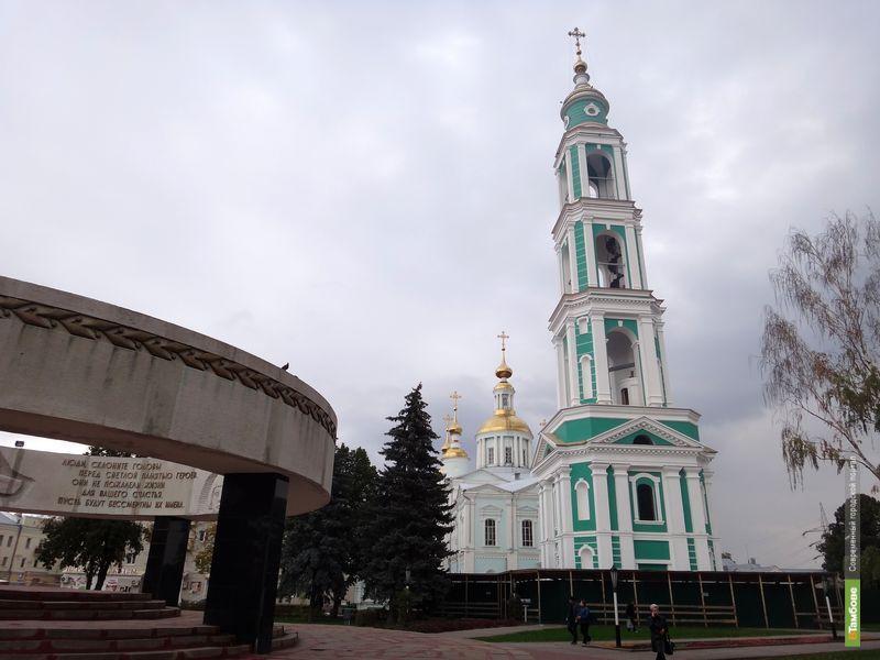Тамбовская митрополия планирует преобразить Соборную площадь