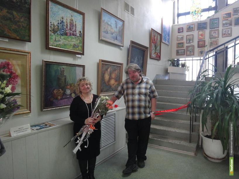 В Тамбове открылась персональная выставка Людмилы Кудрявцевой