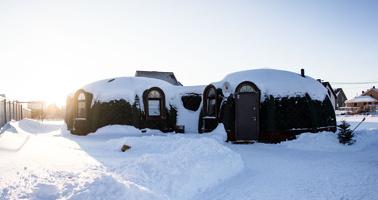 Первый купольный дом в Тамбове: «Такие строят для военных объектов и на Марсе»