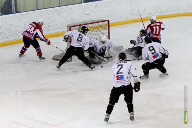 Мордовские хоккеисты обыграли ХК «Тамбов»