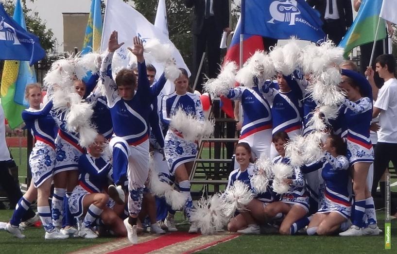 Тамбовские черлидеры стали победителями всероссийского турнира