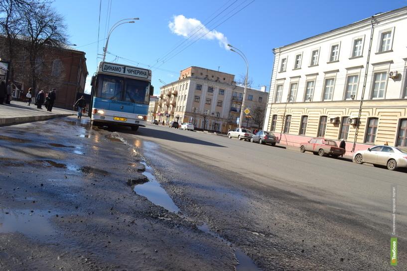 В каждом седьмом ДТП на Тамбовщине виноваты дорожные ямы