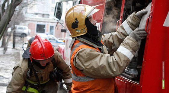 Тамбовские пожарные за сутки пять раз выезжали на вызовы