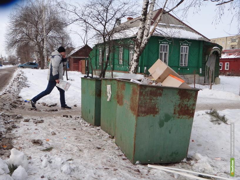 В Тамбове жители улицы Степная отвоевывают для себя мусорные баки