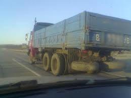 На тамбовской дороге пассажир выпал из КАМАЗа