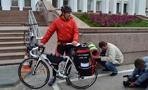 Велопутешественник Александр Осипов отправляется в очередное странствие 1 ноября