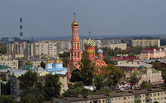 Александр Смолеев: Тамбов с колокольни Спасо-Преображенской церкви