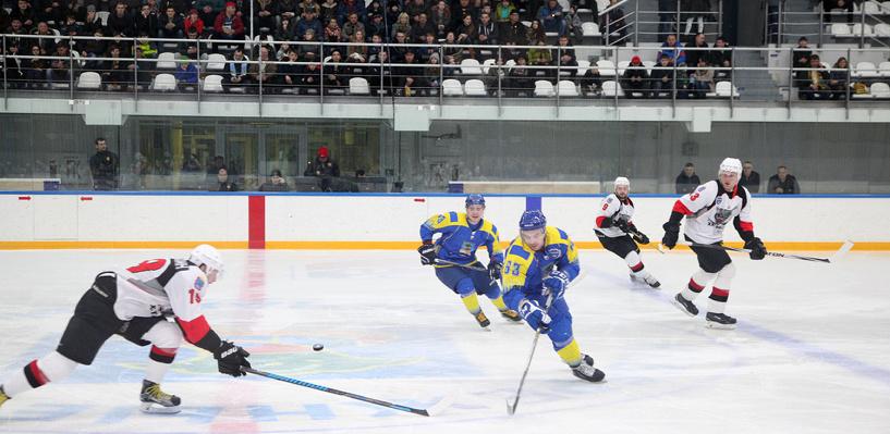 ХК «Тамбов» вышёл в полуфинал Кубка Федерации