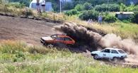 Под Тамбовом завершились соревнования по автокроссу