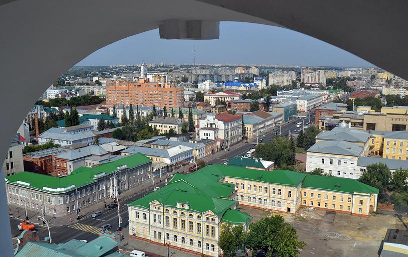 Александр Смолеев: Тамбов с высокой колокольни