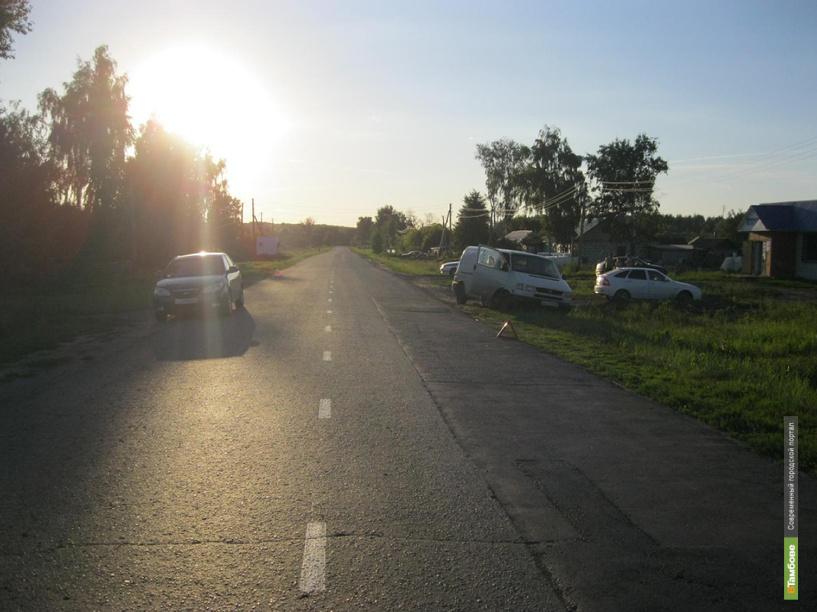 В Мичуринском районе под машину угодил 5-летний мальчик