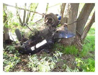 В Тамбовской области перевернулась Lada: 1 человек погиб и 3 пострадали