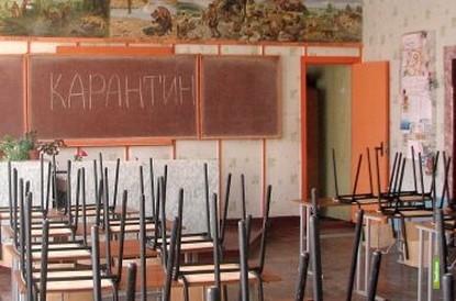 Школы Тамбова закрываются на карантин