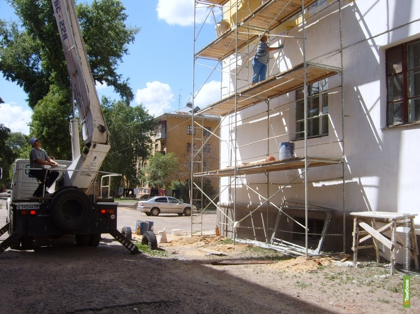 За год в Тамбовской области отремонтируют 114 жилых домов