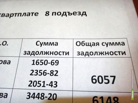 95% тамбовчан полностью оплачивают коммунальные услуги