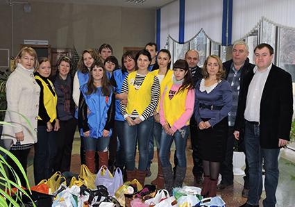 Студенты-державинцы помогают вынужденным переселенцам из Украины