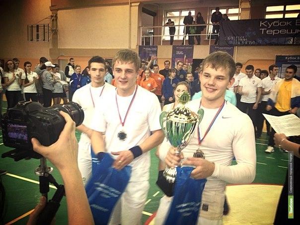 Студенты из Мичуринска стали вторыми на спортивных студенческих играх