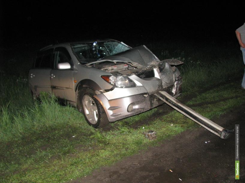 В ДТП из-за выбоины на дороге серьезно пострадали два 15-летних тамбовчанина