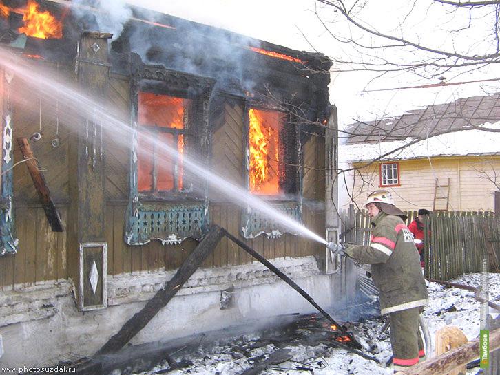 В огне погибли три тамбовчанина