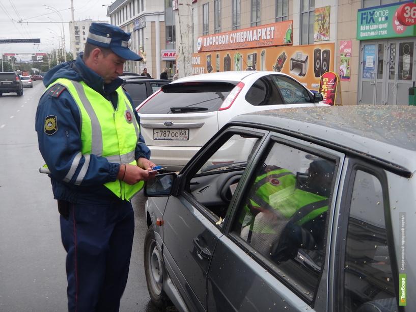 Автоинспекторы проверят, как тамбовчане возят в школу детей