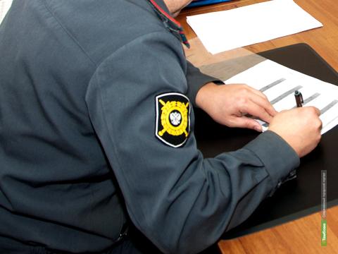 Тамбовчанин ударил стража порядка по лицу
