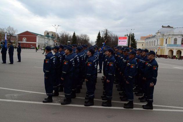 Из-за репетиции парада Победы вновь встанет движение в центре Тамбова