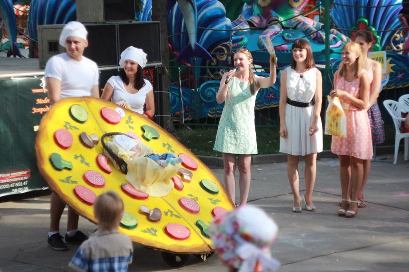 В Тамбове прошёл парад колясок