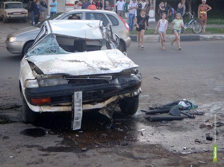 На Тамбовщине в два раза увеличилось количество «пьяных» ДТП