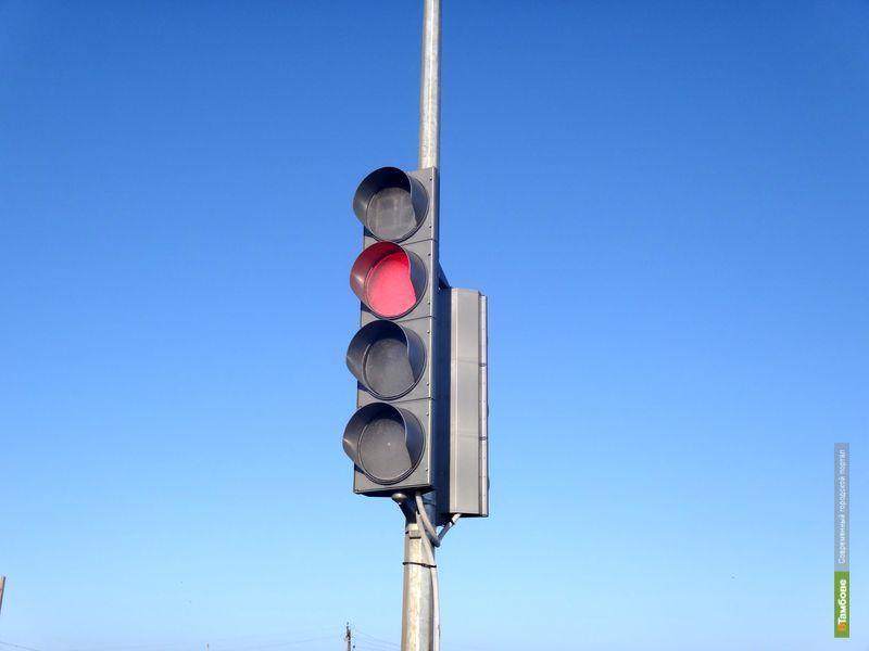 На трассе М6 установили несколько новых светофоров