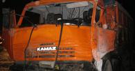 На трассе М-6 «Каспий» столкнулись два грузовика