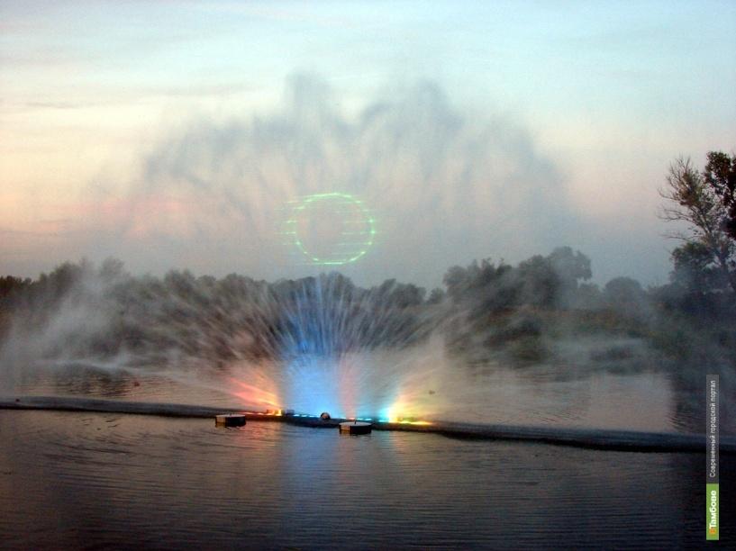 В Тамбове сегодня откроют проецирующий фонтан
