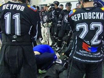 По факту избиения игрока ХК «Тамбов» завели уголовное дело