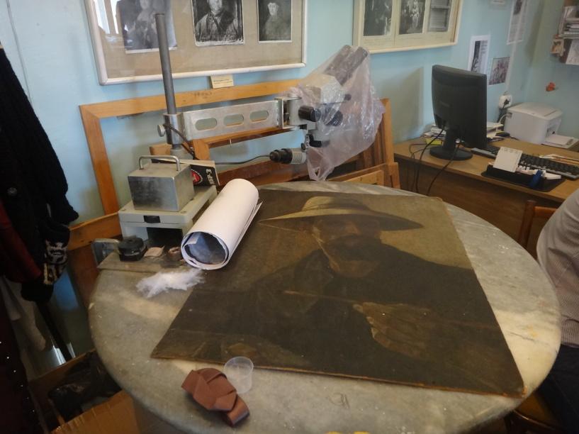 В моршанский музей после реставрации вернутся три шедевра