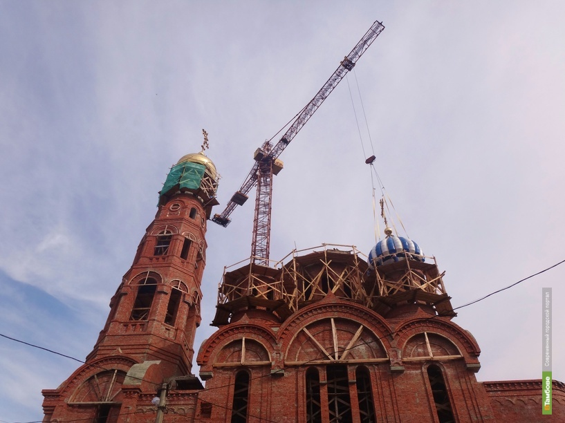 В прошлом году тамбовчане пожертвовали на храмы и памятники 20 миллионов рублей