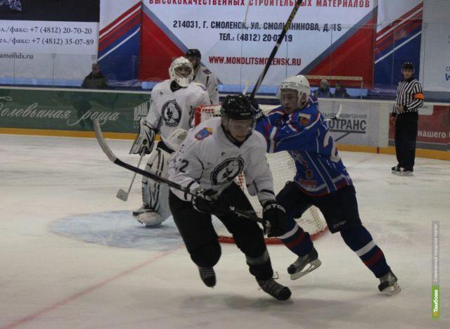 Тамбовские хоккеисты проиграли вторую игру четверть финала