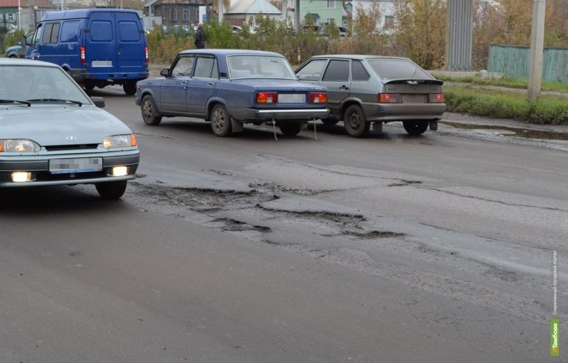 В Тамбове отремонтируют улицу Докучаева