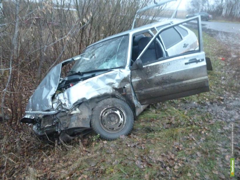 В Тамбовском районе в аварии пострадали 6 человек