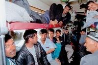 Корабль с беженцами затонул в Индийском океане
