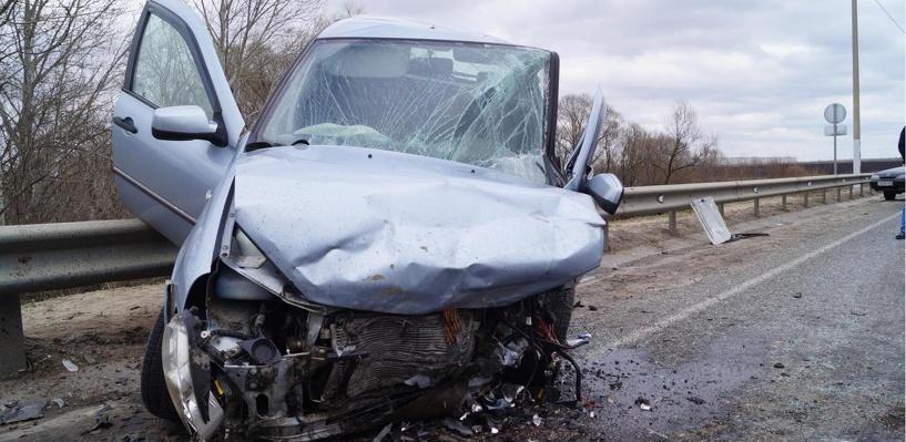 На трассе в Первомайском районе столкнулись три отечественных авто