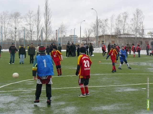 Тамбовские школьники привезли «бронзу» с международного турнира по футболу