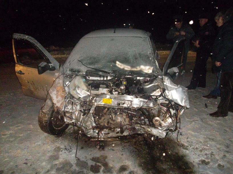 На территории Рассказовского района произошло серьезное ДТП