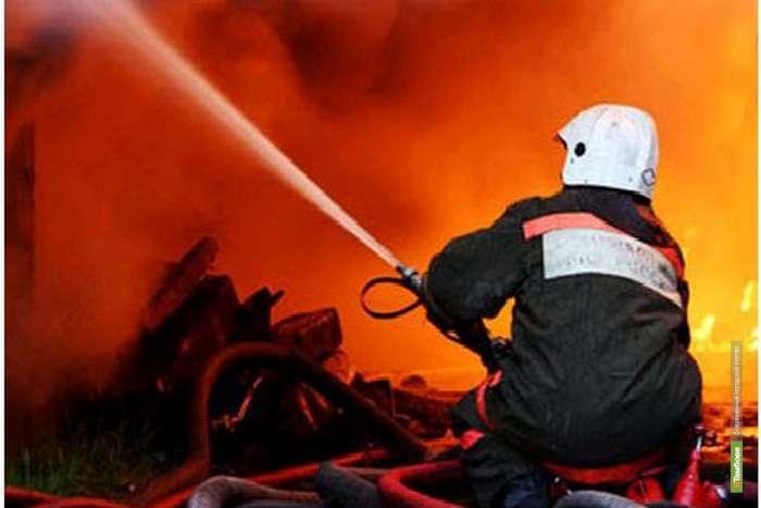 Тамбовчанин стал жертвой огненной стихии