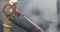 За сутки тамбовских огнеборцев трижды поднимали по тревоге