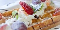 Праздничные рецепты стейка и бельгийских вафель