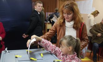 На выборы пришли чуть больше половины жителей нашего региона