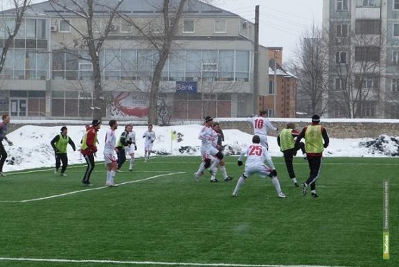Тамбовские футболисты проиграли первый южный матч