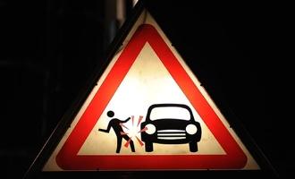 На Магистральной сбили пешехода: полиция разыскивает виновника ДТП