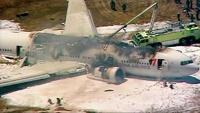 В США упал самолет: двое погибших, 181 пострадавший