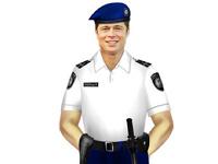Актеры Голливуда надели униформу украинских полицейских