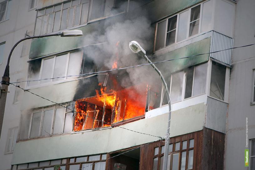 Жердевский полицейский вытащил из огня двух человек